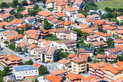 Modern San Marino Suburban districts Stock Photo