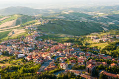 Modern San Marino Royalty Free Stock Images