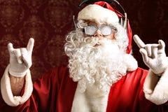 Modern santa Stock Photo