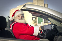 Modern Santa Claus Stock Photo