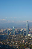 Modern Santiago Royalty Free Stock Photos