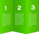 Modern, sauber, Designschablone - völlig editable lizenzfreie abbildung