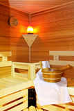 Modern sauna Royalty Free Stock Images