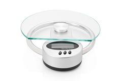 modern scale för digitalt kök arkivbild