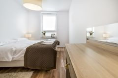 Modern, scandinavian interior design Stock Images