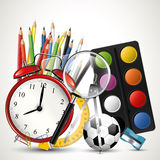 Modern school background Stock Images