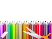 Modern school background with copyspace. EPS10 Stock Photos