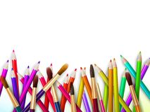 Modern school background with copyspace. EPS10 Stock Photography