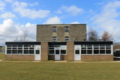 Modern school building Stock Photos