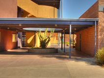 Modern School Campus 2. Select detail of a modern school campus Royalty Free Stock Images