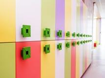 Modern school interior . Stock Photos