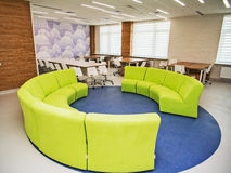 Modern school interior . Royalty Free Stock Images