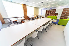 Modern school interior . Stock Image