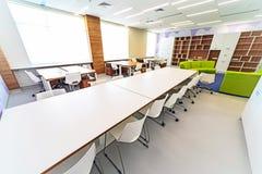 Modern school interior . Stock Image