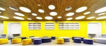 Modern school interior . Stock Photography