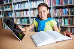 Modern schoolgirl Royalty Free Stock Photos