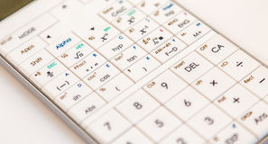 Modern scientific calculator Royalty Free Stock Photography