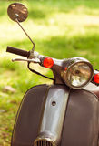 Modern scooted on the street. Royalty Free Stock Photo