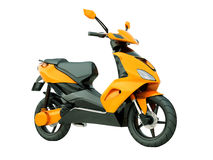 Modern scooter isolated Stock Photos