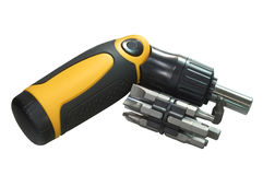 Modern screwdriver Stock Photography