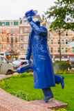Modern sculpture in Amsterdam, The Netherlands Stock Photos