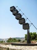 Modern sculpture at Es Baluard Museu d'Art Modern i Contemporani de Palma Royalty Free Stock Photography