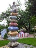Modern sculpture in Ukraine Stock Image