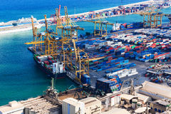 Modern sea port Stock Photography