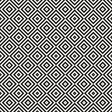 Modern seamless background. Vector monochrome geometrical texture. Stock Photography