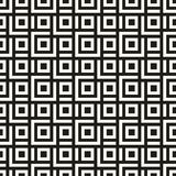 Modern seamless background. Vector monochrome geometrical texture. Royalty Free Stock Photo