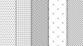 Modern seamless pattern background. Abstract set for elegant design, fashion universal background. Vector royalty free illustration
