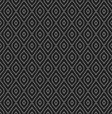 Modern Seamless Pattern. Geometric dotted black and white pattern. Seamless abstract modern texture for wallpapers and backgrounds Stock Image