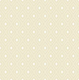 Modern Seamless Pattern. Geometric repeating beige ornament with diagonal white dots. Seamless abstract modern pattern Royalty Free Stock Image