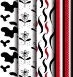Modern seamless pattern Stock Photos