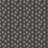 Modern seamless pattern spirals Royalty Free Stock Images