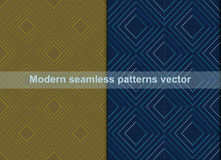 Modern seamless patterns abstract background Stock Photo