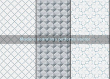 Modern seamless patterns abstract background Royalty Free Stock Image