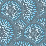 Modern Seamless Wallpaper. You can use this repeating pattern to fill your own custom shapes and backgrounds Royalty Free Stock Photos