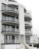 Modern seaside apartment Stock Photography