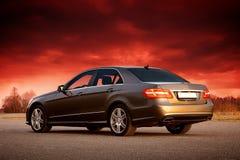 Modern sedan Royalty Free Stock Photos