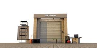 Modern self storage Royalty Free Stock Photography