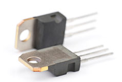Modern semiconductor transistors Stock Photography