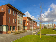 Modern Semidetached family houses Royalty Free Stock Photography