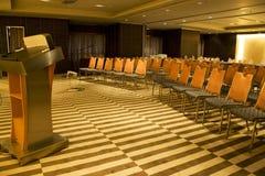 Modern Seminar Room. Image of a modern seminar room Royalty Free Stock Photos