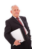Modern senior businessman Royalty Free Stock Images