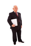 Modern senior businessman Royalty Free Stock Photography