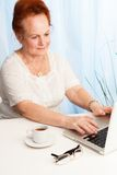 Modern senior life Stock Photography