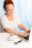 Modern senior life Stock Photography