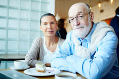 Modern seniors Royalty Free Stock Photos