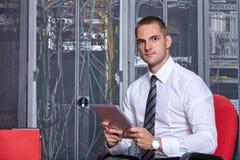 Modern server room Royalty Free Stock Images